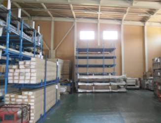 Storage space / Iwate warehouse